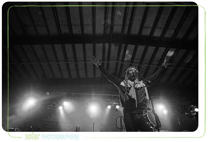 Michael Franti at Crossroads in Kansas City.