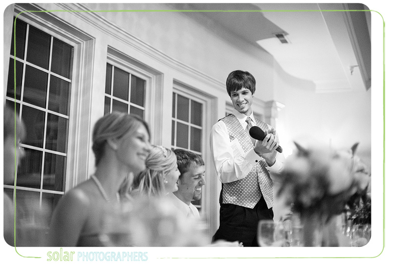 An awesome best man speech.