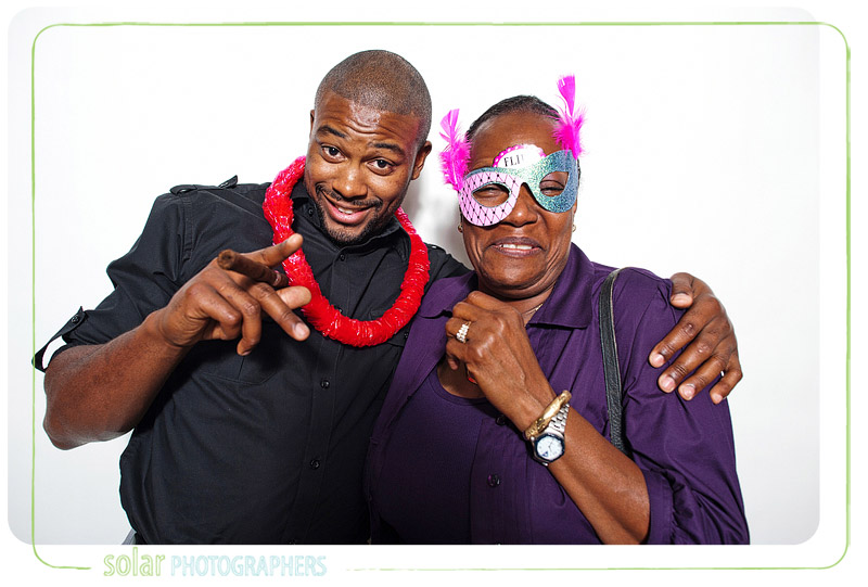 Michelle & Darnell's photobooth at the Sawyer Room in Kansas City.