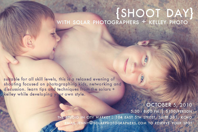Photography workshop in Kansas City on October 5, 2010.