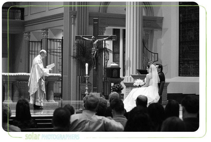 Beautiful wedding image in Kansas City.