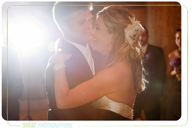 Beautiful first dance shot.