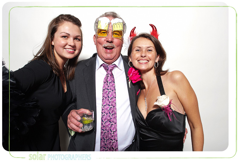 Father of the bride in beer goggles.