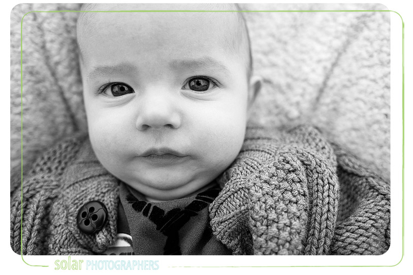 Beautiful baby portrait.