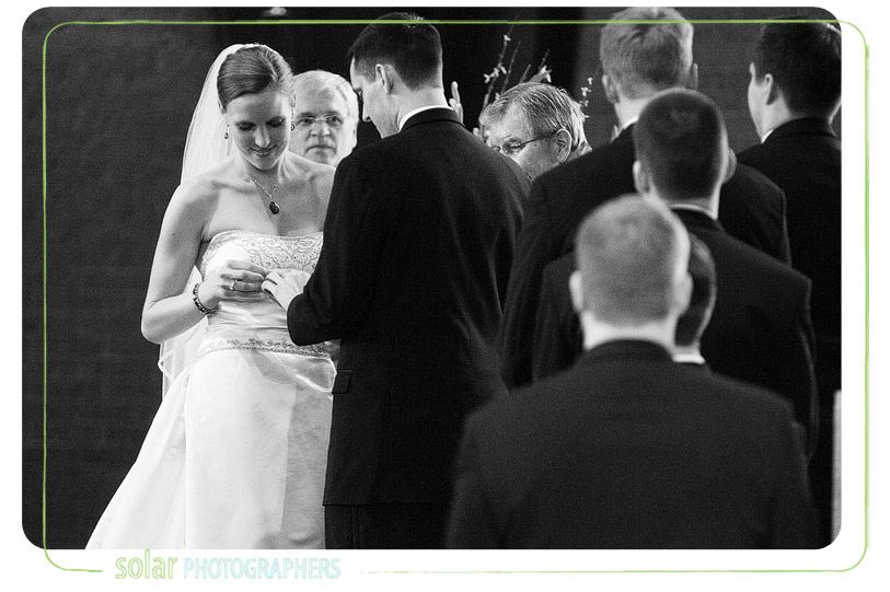 Awesome wedding picture.