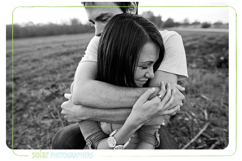 Beautiful beloved engagement photo.