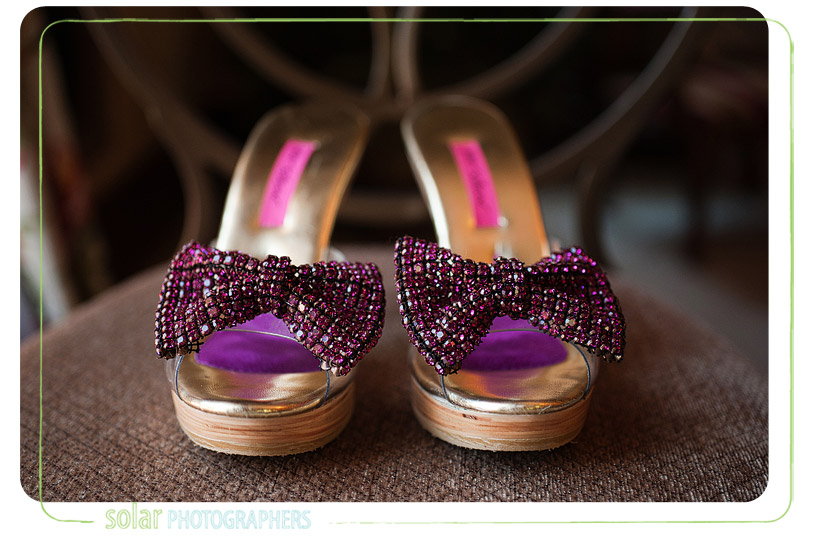 Cute wedding shoes