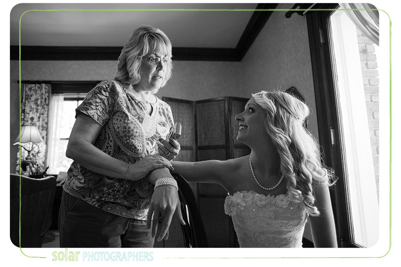 Mom and daughter before getting married.