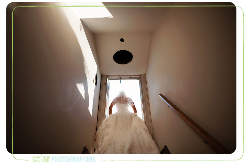 Awesome bride picture.