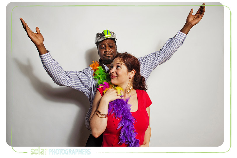 Fun Kansas City photo booth image.