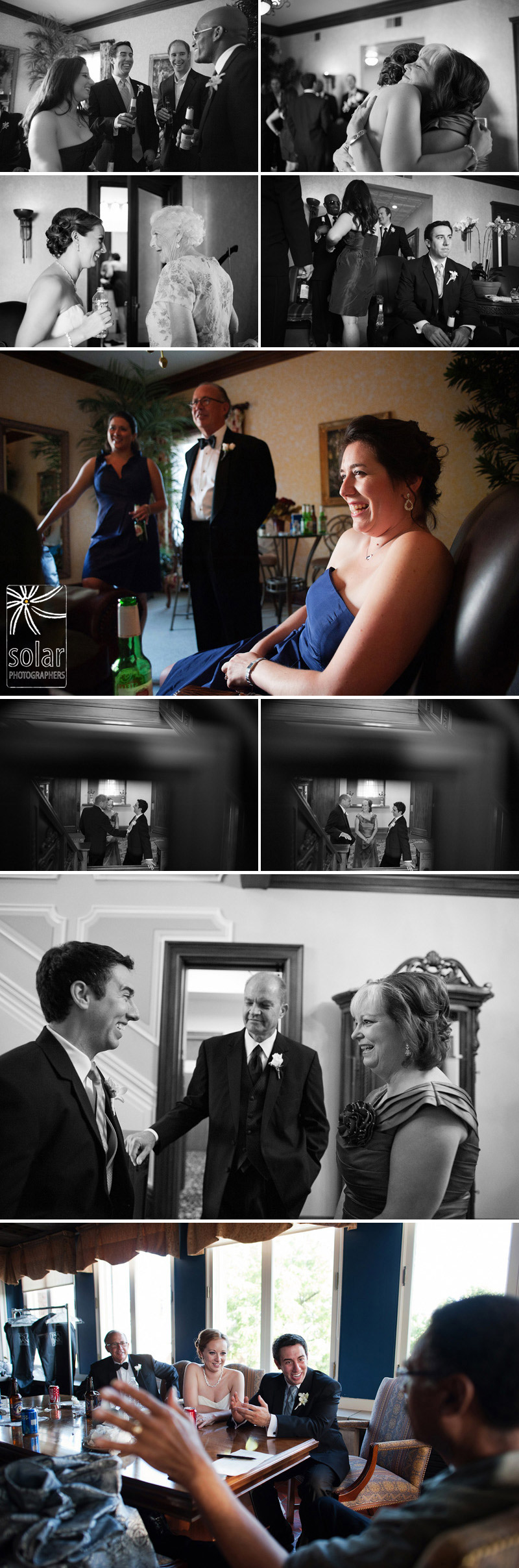 Fun candid wedding pictures.