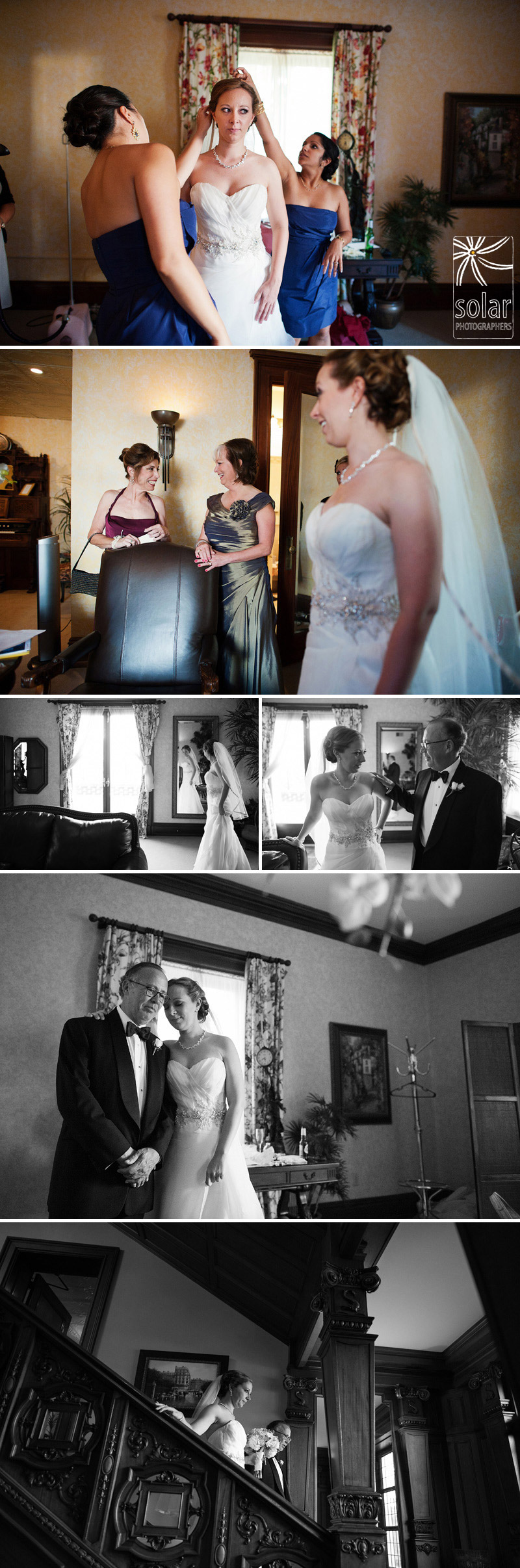 Emotional wedding pictures.