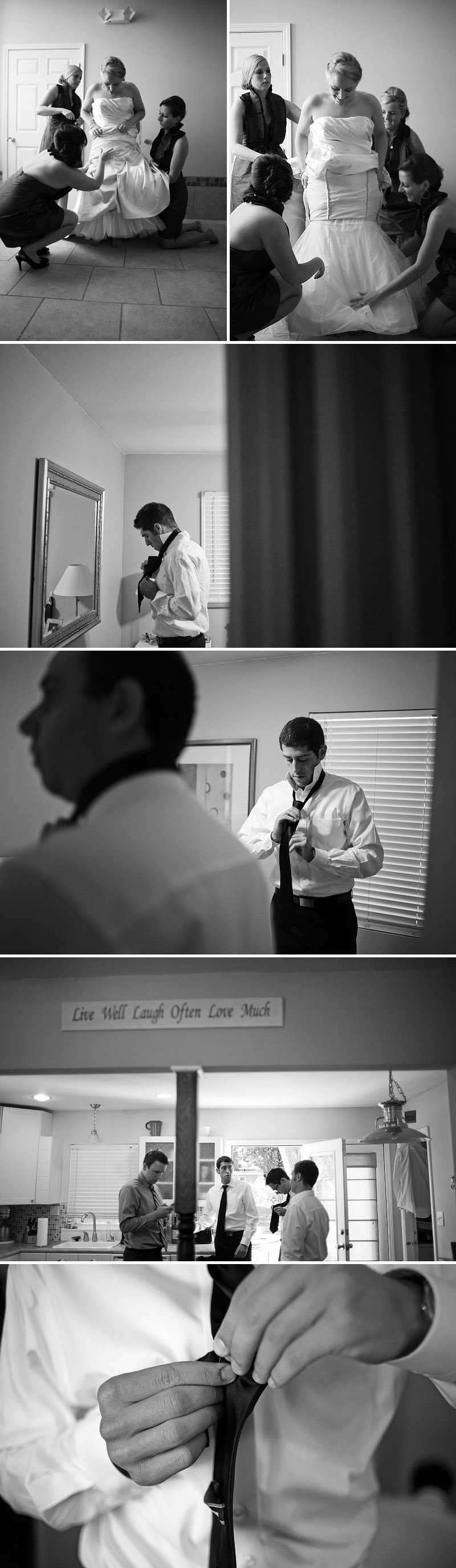 candid wedding preparation pictures