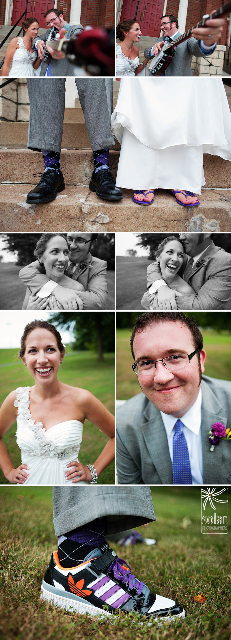 Awesome bride and groom portraits.