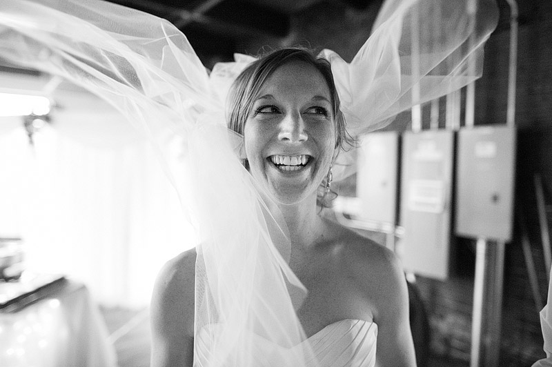 Fun bridal portrait.