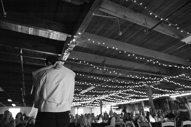 Beautiful first dance picture at a downtown kansas City wedding reception.