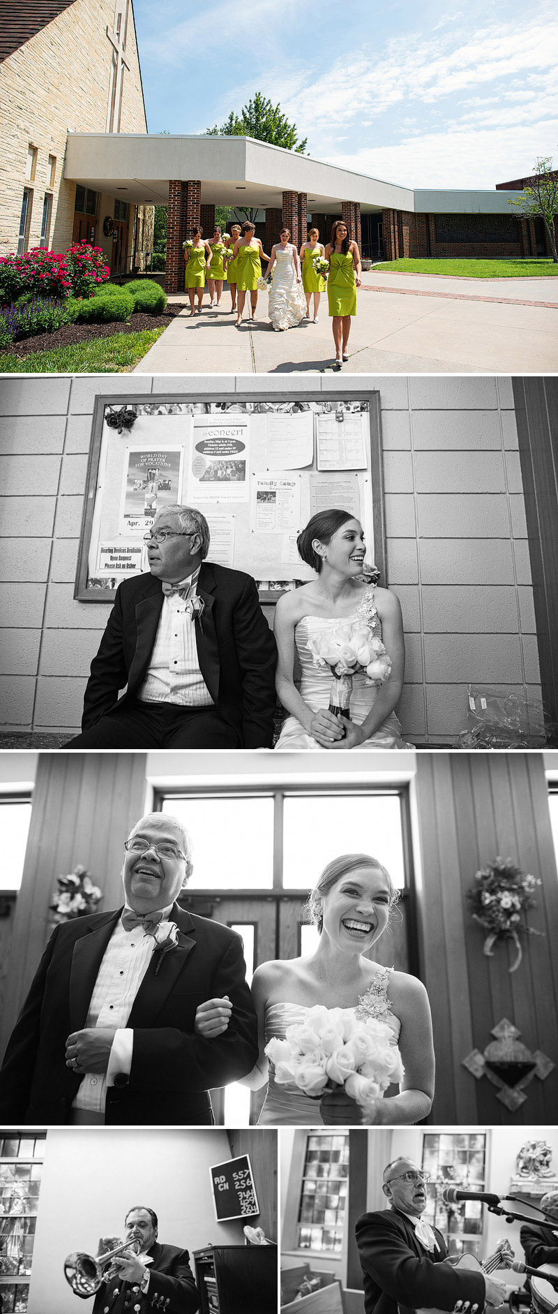 Awesome wedding pictures.