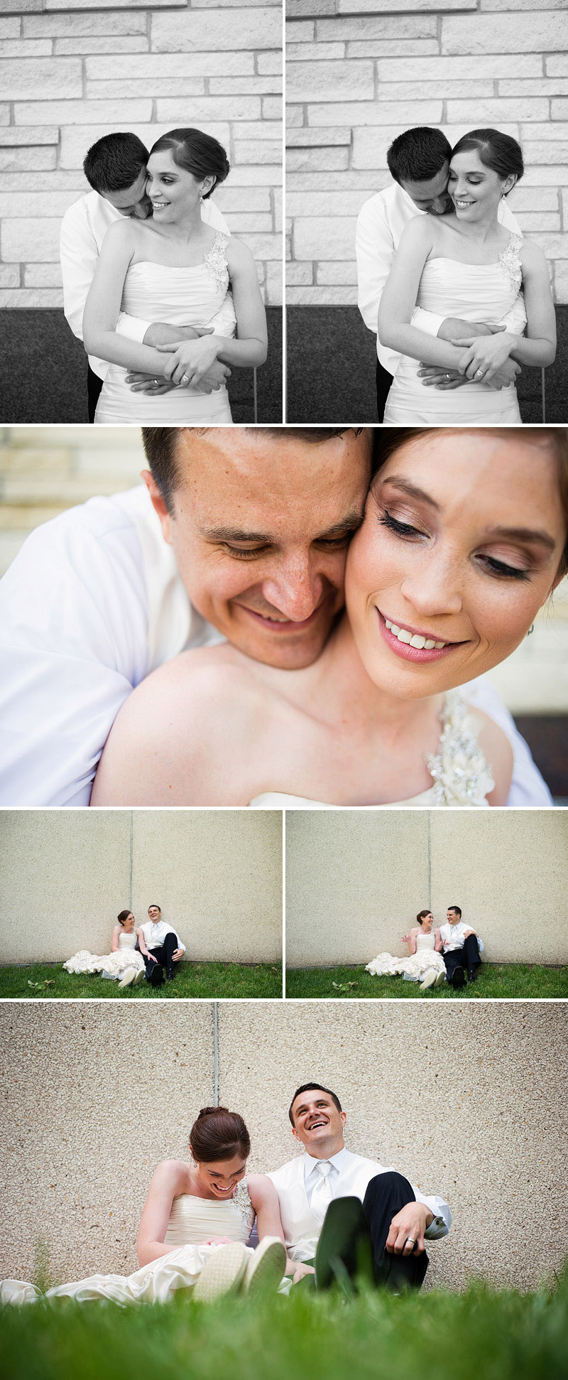 Beautiful wedding portraits.