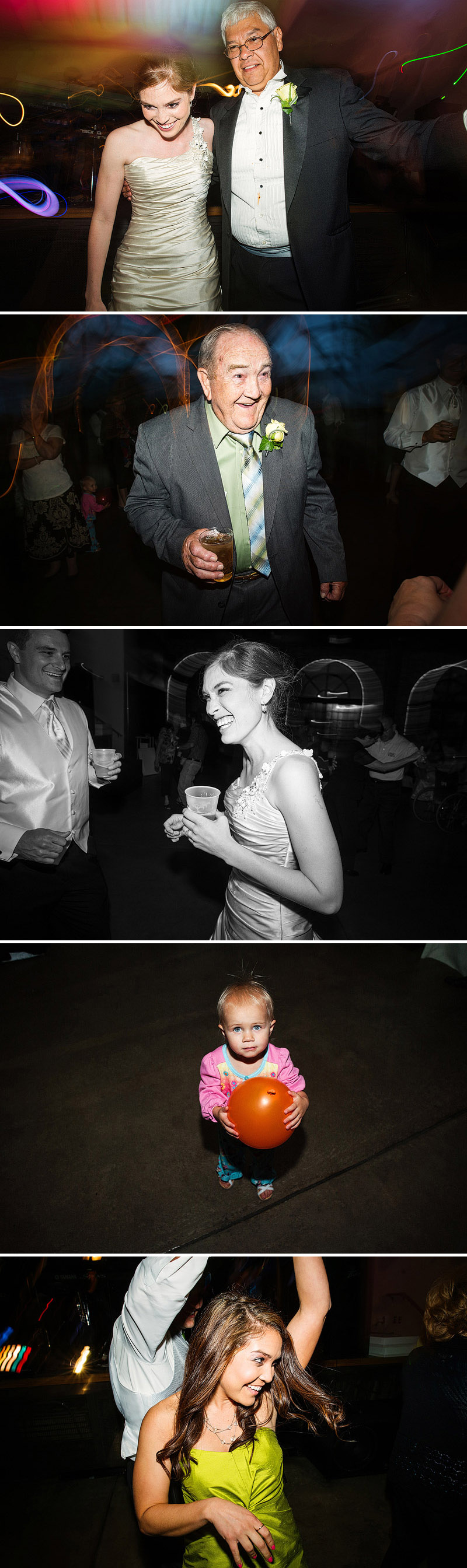 Awesome wedding reception.