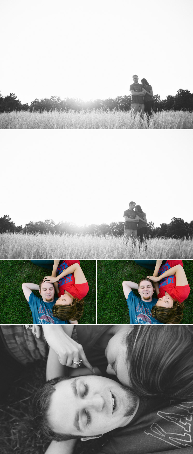 Kansas City engagement photography.