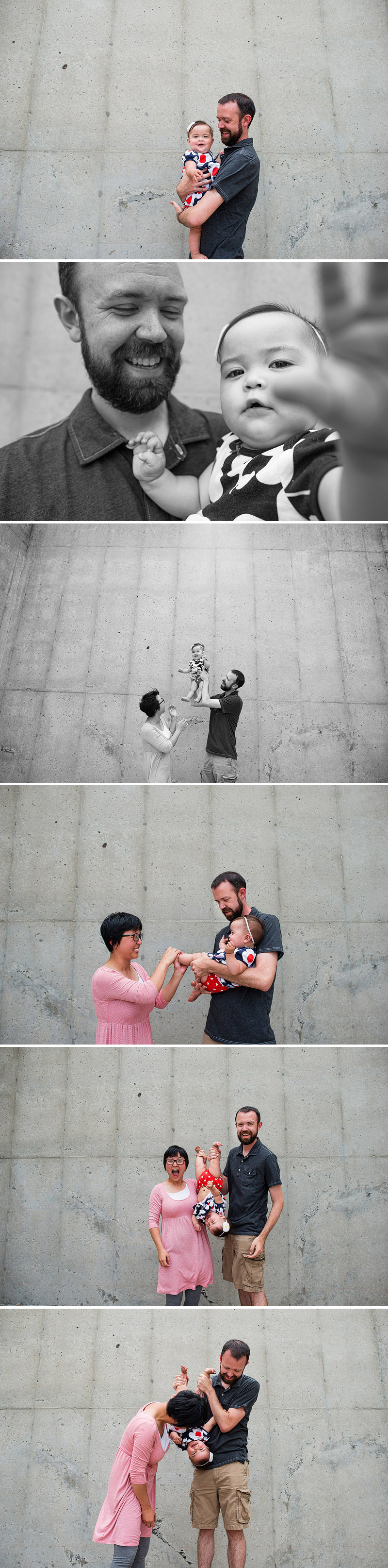 Family portraits in Kansas City.