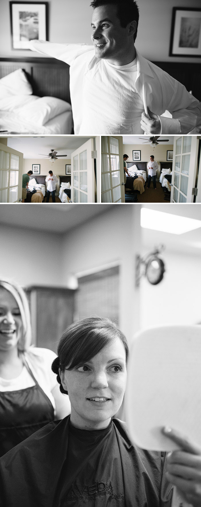 Fun wedding photos.