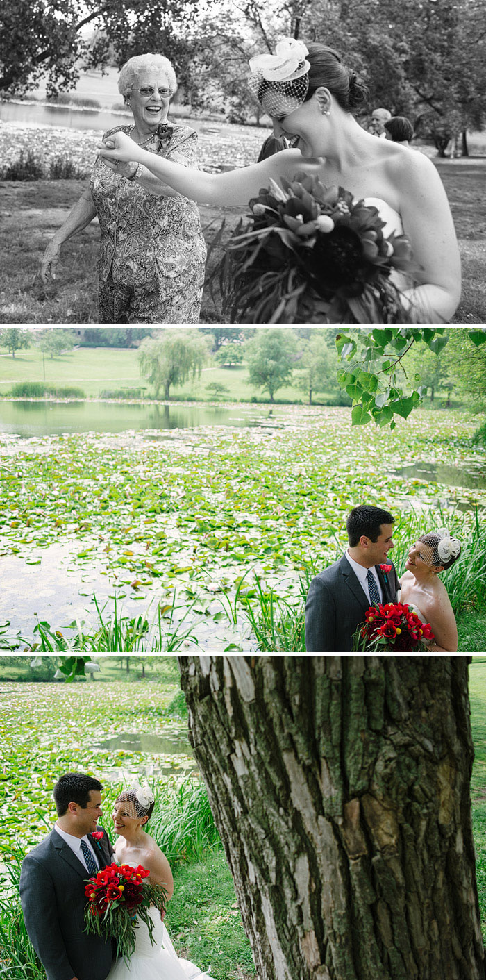 Beautiful wedding portraits in Lawrence.