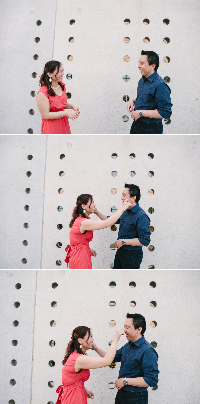 Fun Engagement photos in Kansas City.