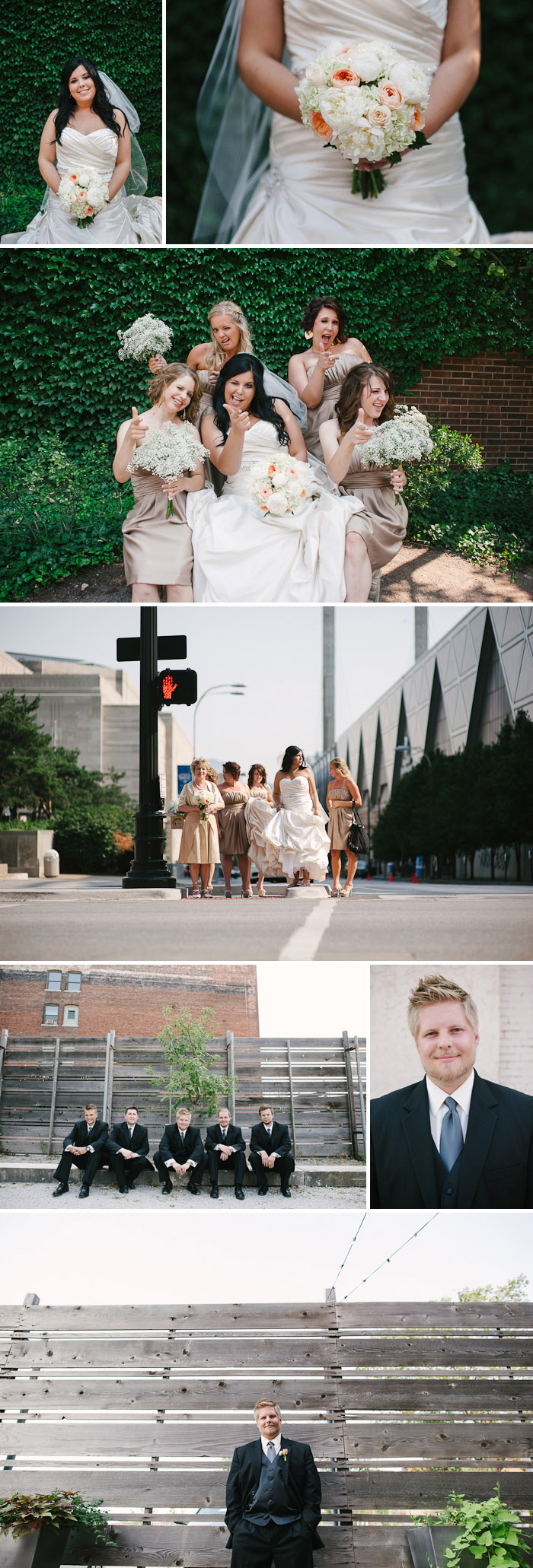 Fun portraits around downtown Kansas City.