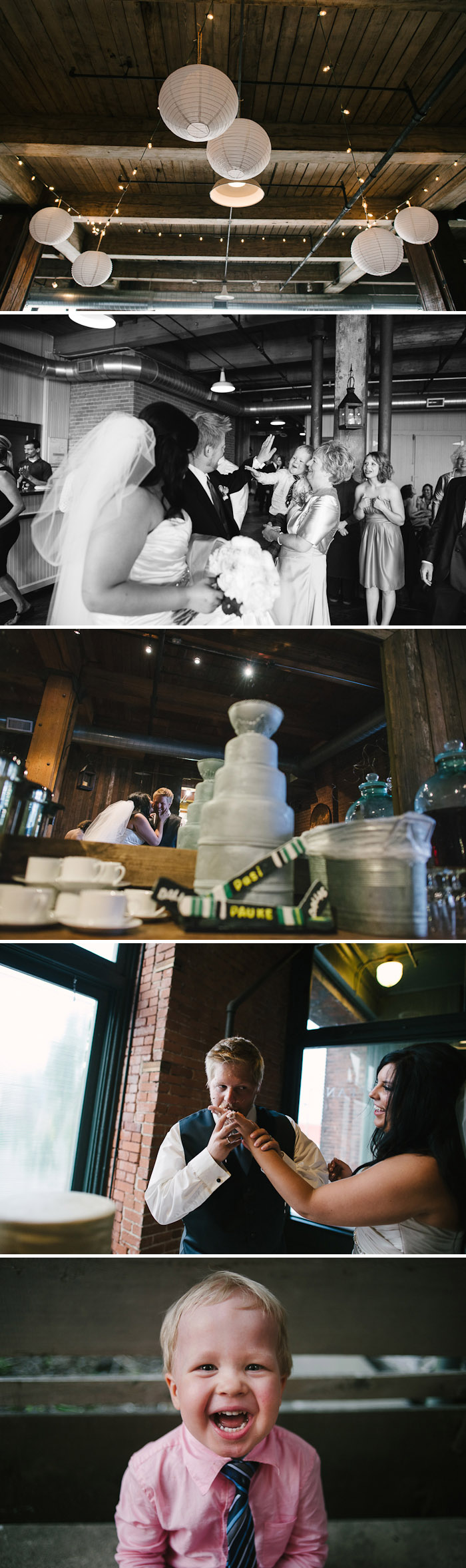 Fun Hobbs Building wedding.