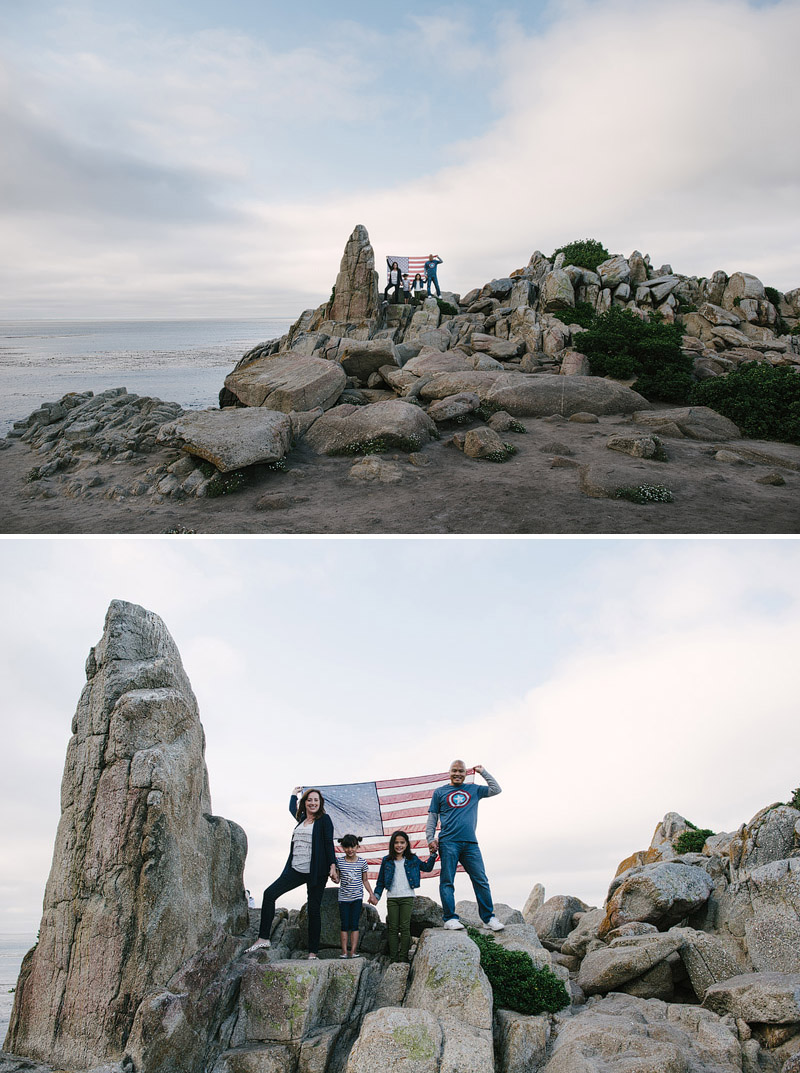 Pacific Grove, California family photography.