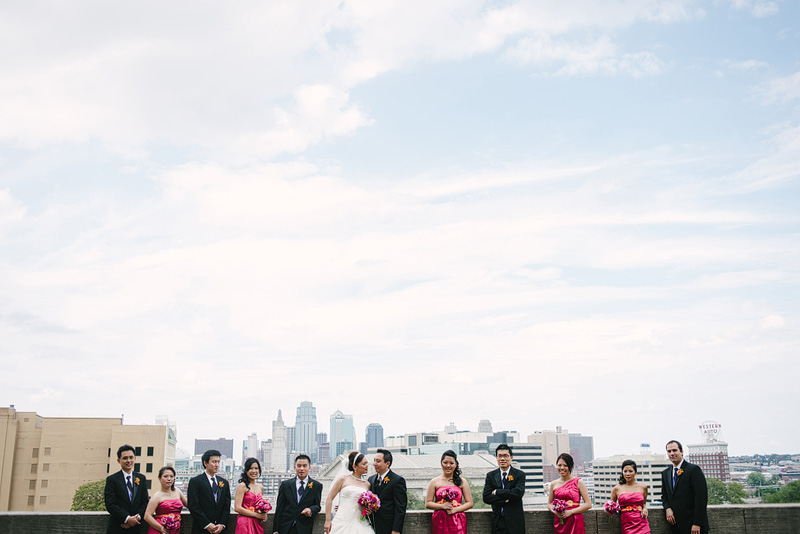 Kansas City bridal party inspiration.