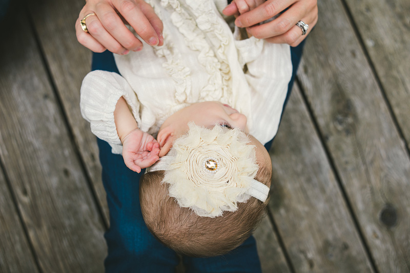 Baby photo shoot headband inspiration.