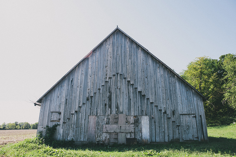 Old barn in Kansas City.