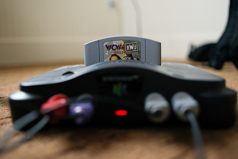 Nintendo 64 on a wedding day.