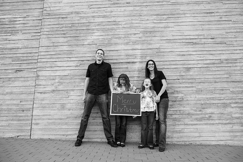 Kansas City portrait photography of a family.