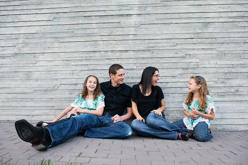 Kansas City family portrait photography.