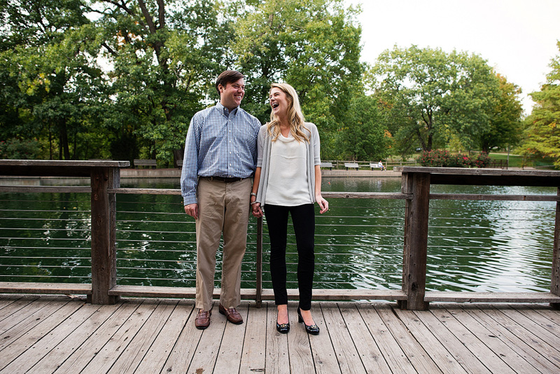 Kansas City portrait photography of a couple standing together.