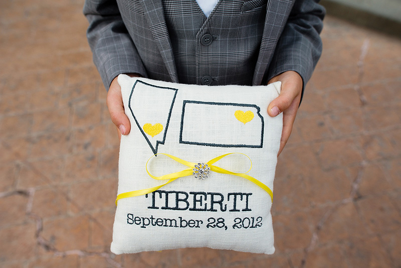 Awesome ring bearer pillow inspiration.