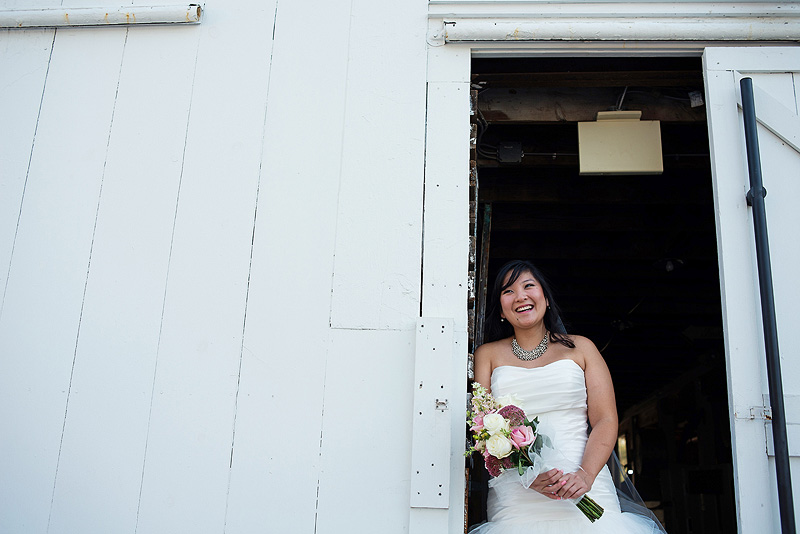 Awesome bridal portrait at Fresh Air Farms in Kansas City.