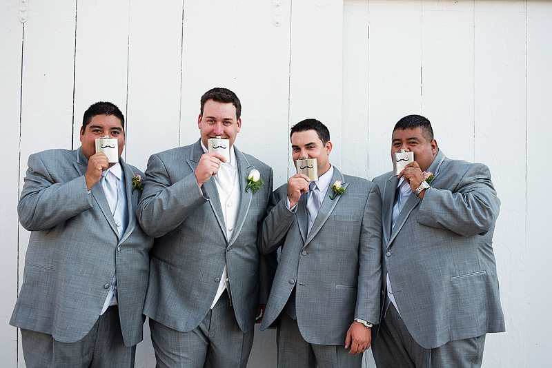 Fun groomsmen picture.