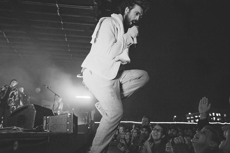 Alex Ebert dancing in Kansas City.