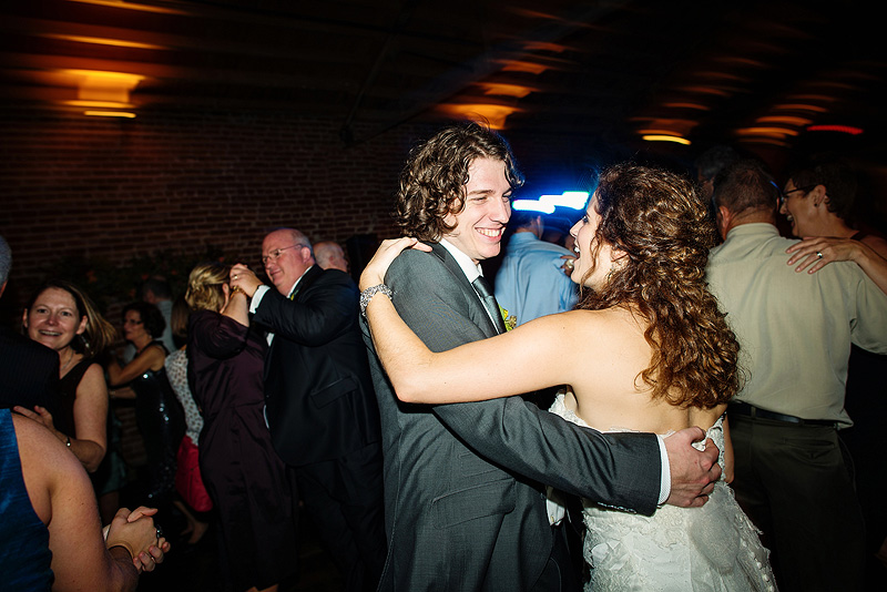 Bride and groom dance at the Guild in Kansas City.