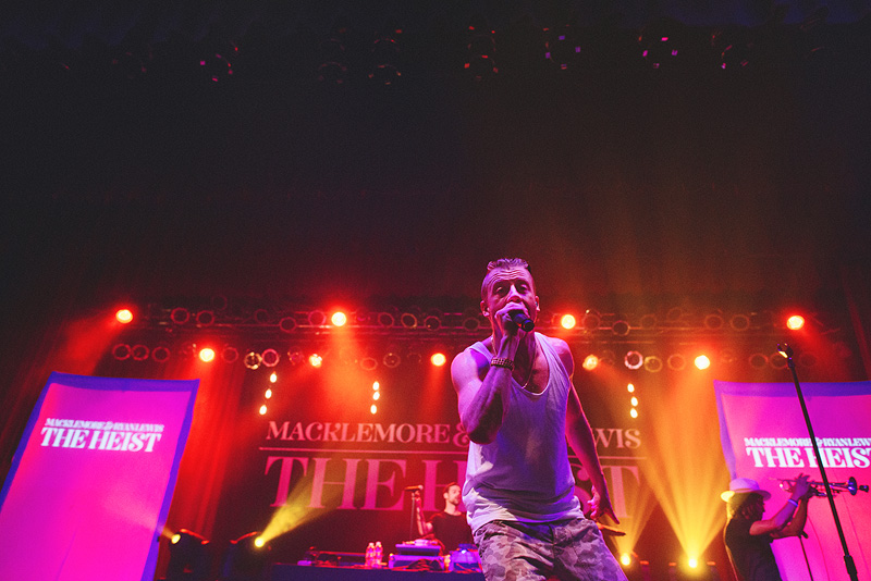 Sweet concert pictures in Omaha, Nebraska at the Sokol, Macklemore.