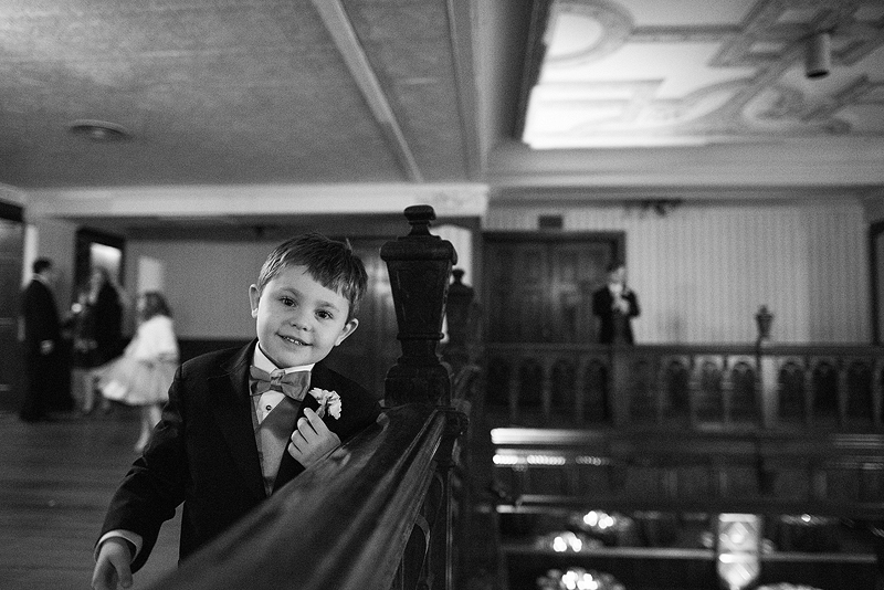 Portrait of a ring bearer.