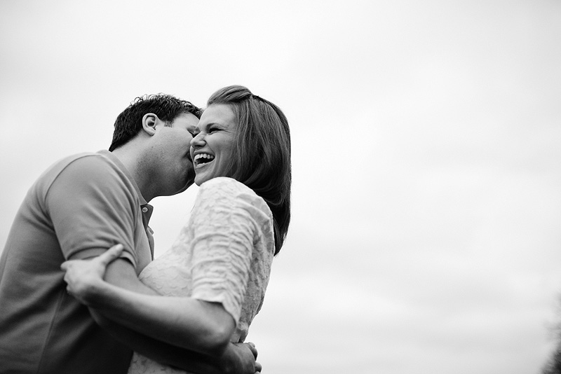 Happy people in love.