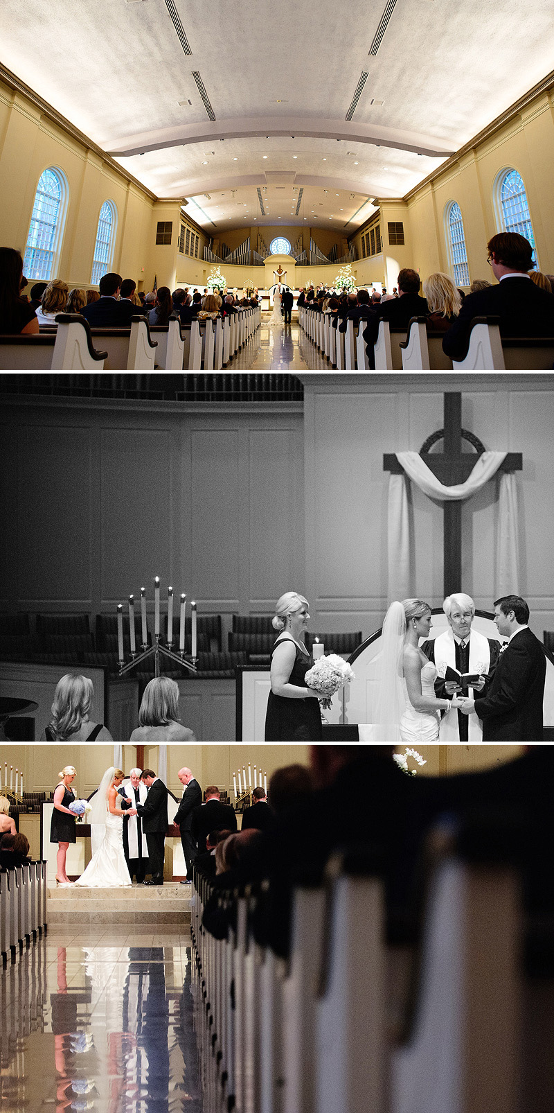 Awesome Village Presbyterian Church wedding in Kansas City.