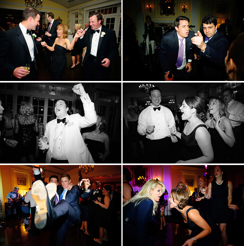 Sweet dancing pics at a Kansas City wedding reception.
