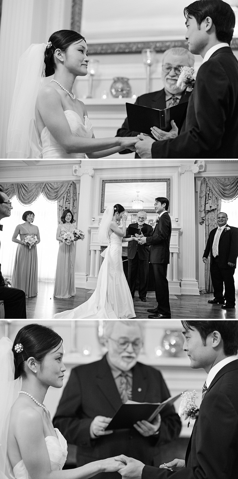 Lovely Loose Mansion wedding ceremony.