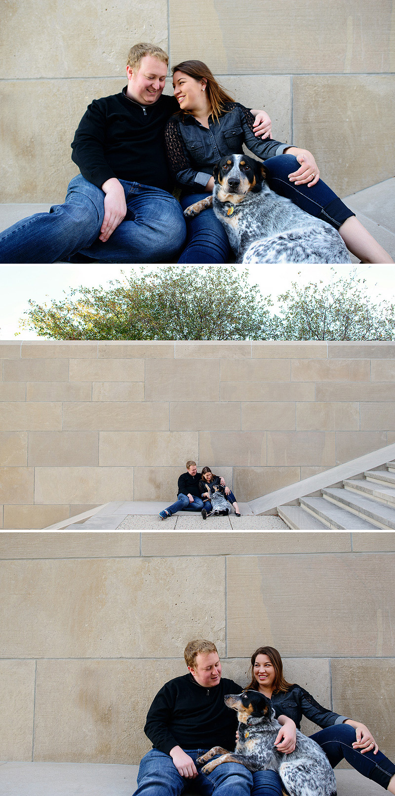 Liberty Memorial engagement pictures.